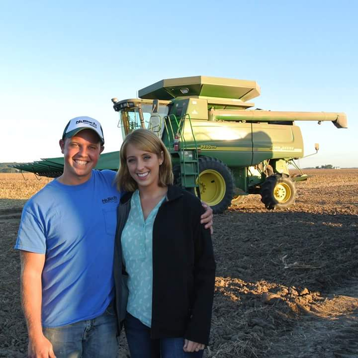 this is a photo of us harvesting nutech corn in 2016 ty was mvp dealer that year